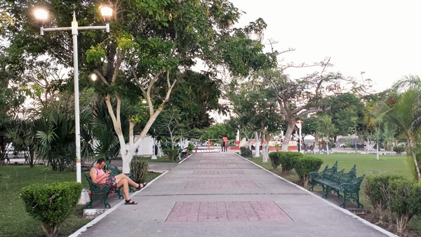 Zocalo (Центральная площадь). Бакалар