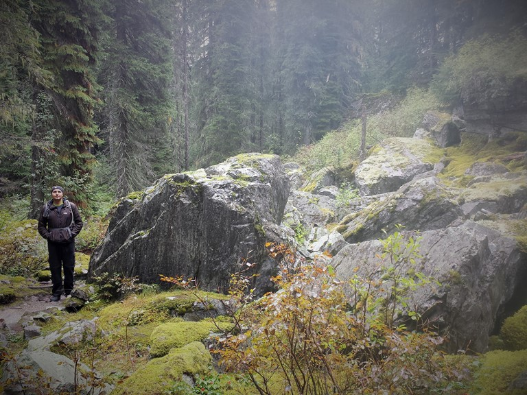 RockGarden trail. Glacier National Park