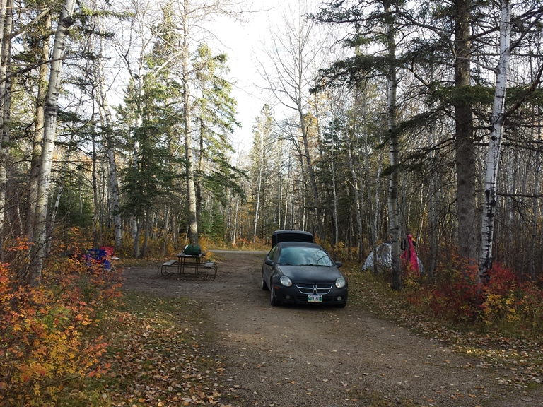 Fall in Riding Mountain. Wasagaming campground