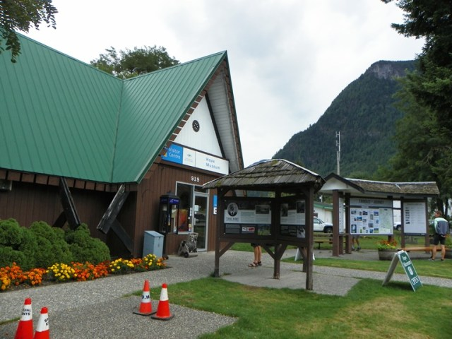 Tourist Visitor Centre. Hope. BC