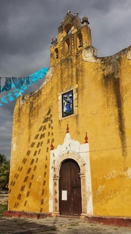 Valladolid. Mexico. Iglesia de Santa Ana