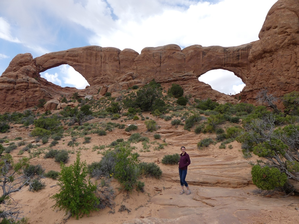 Windows. Arches national park