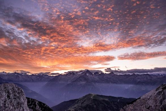 Love Trentino - tramonto dolomitico