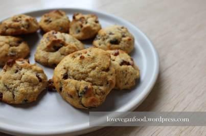Cranberry-Kokos-Cookies