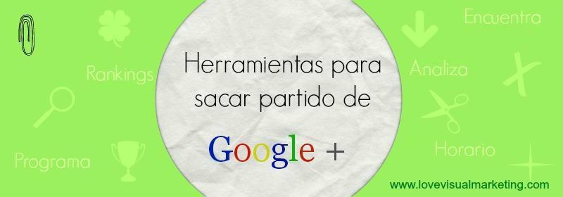 herramientas Google Plus