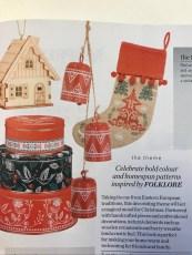 Folklore Stocking!