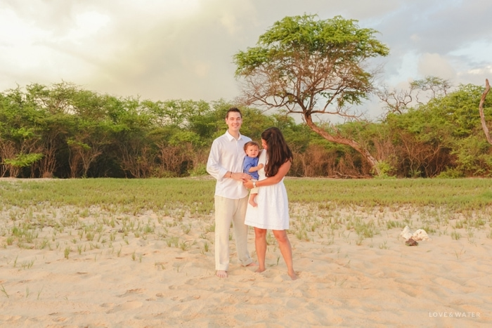 Makena Beach family portrait photography