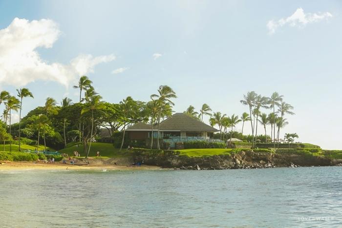 Kapalua Bay Beach family portrait Maui