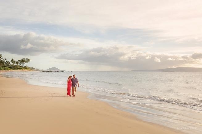 Couple at the beach Maui