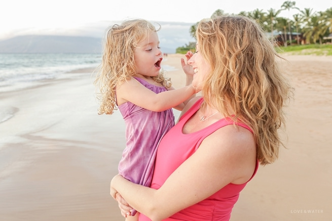 Mother and Daughter Maui