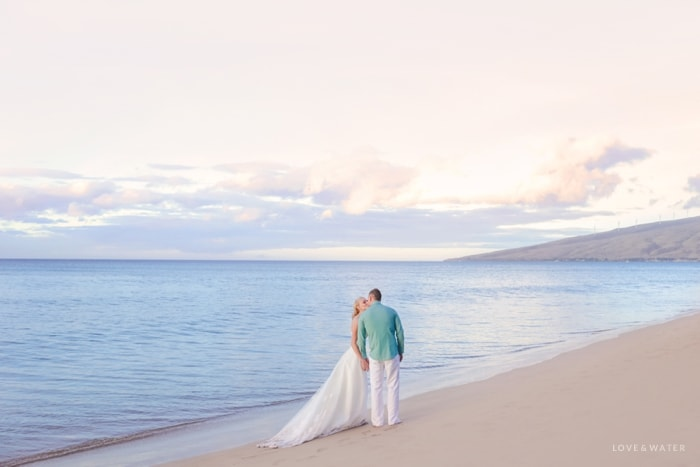 Maui trash the dress session underwater