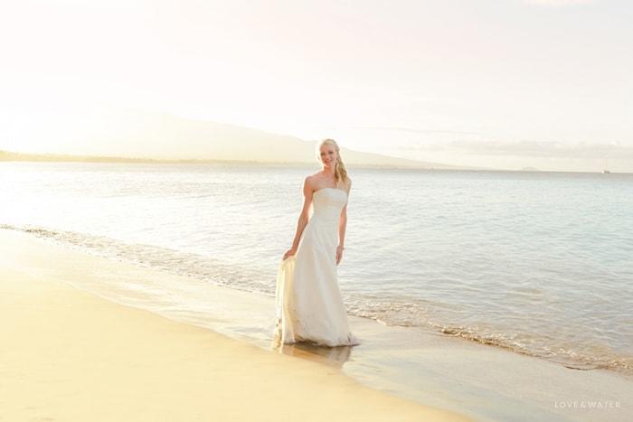 Maui trash the dress shoot
