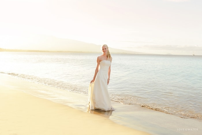 Maui trash the dress shoot