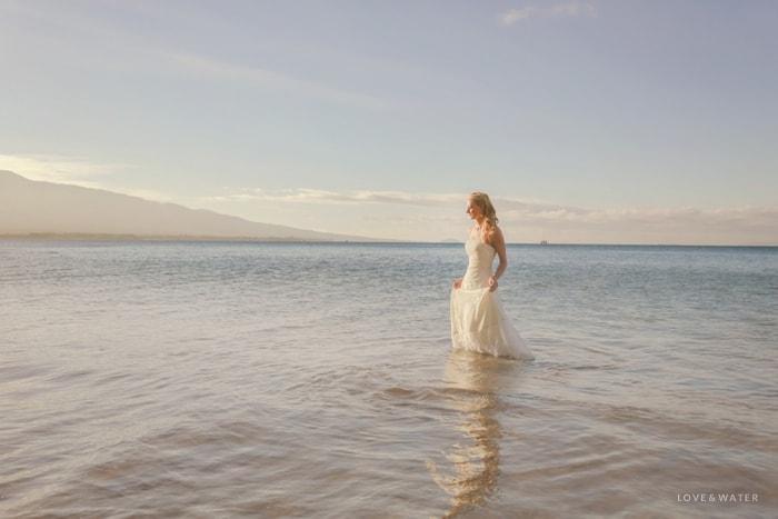 Maui trash the dress photography