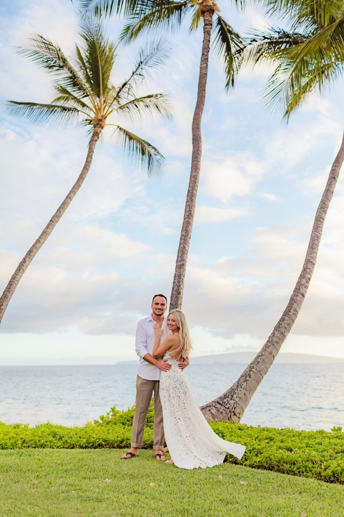 Beautiful sunset Maui couples photography by Love + Water