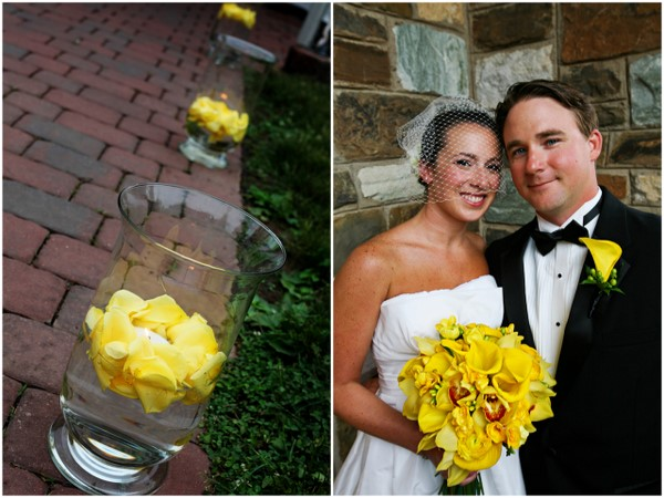 Yellow And White Outdoor Summer Wedding By Kamila Harris