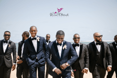 Nigerian Wedding Bose and Tokunbo #BToks2017 Groom and Groomsmen Wani Olatunde Photography LoveWeddingsNG 1