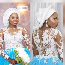 Nigerian Wedding Trend 2017 Bride in Multiple Outfits Traditional Wedding LoveWeddingsNG 3