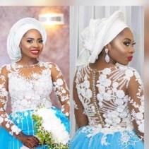 Nigerian Wedding Trend 2017 Bride in Multiple Outfits Traditional Wedding LoveWeddingsNG 3