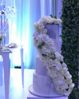 Nigerian Wedding Trend 2017 Marble Wedding Cakes LoveWeddingsNG Precious the planner