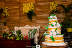 Nigerian Traditional Wedding Cake Sumbo and Moses Farmland Themed Wedding #SMLove17 TrendyBE Events LoveWeddingsNG