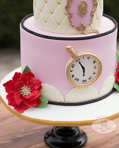 Alice in wonderland Nigerian Wedding Cake Dainty Affairs LoveWeddingsNG 1