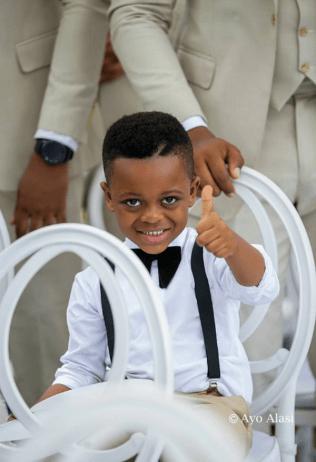 Nigerian Celebrity Wedding Page Boy Yomi Casual #TheCasuals17 Ayo Alasi LoveWeddingsNG