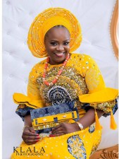 Nigerian Hot Wedding News Ankara Aso Oke Klala Photography LoveWeddingsNG 1