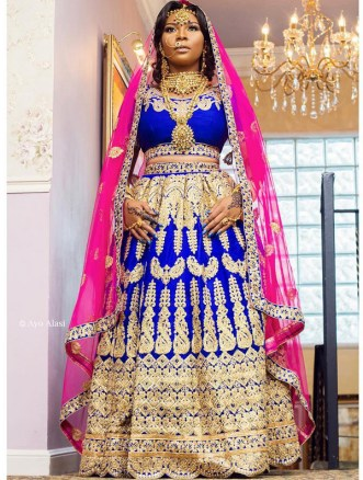 Nigerian Hot Wedding News Rhonkefella South Asian Bridal Inspiration LoveWeddingsNG