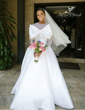Nigerian Hot Wedding News Unique Wedding Gown Wani Olatunde Photography LoveWeddingsNG