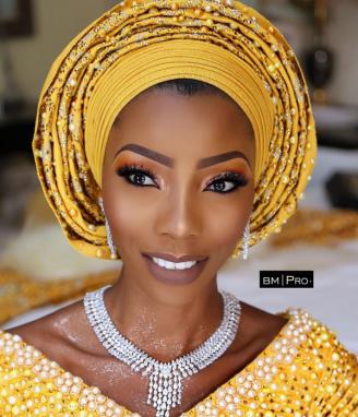 Nigerian Traditional Bridal Makeup Ms Makor Banke Meshida Lawal #Alfreds2017 LoveWeddingsNG