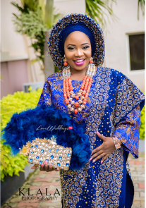 Nigerian Traditional Bride Fatimah and Abdulrafaii #ForTheRecord17 IPC Events LoveWeddingsNG 2