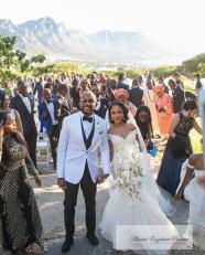 Adesua Etomi and Banky Wellington's White Wedding in Cape Town #BAAD17 AEP Photography LoveWeddingsNG 5