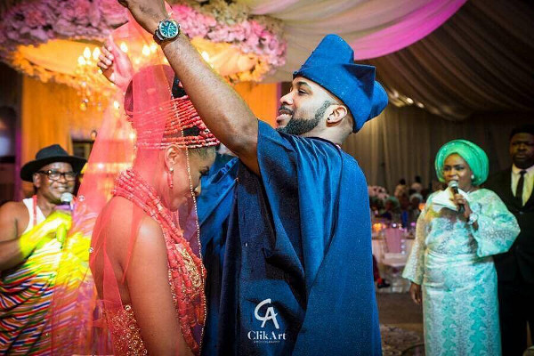 #BAAD17 Banky Wellington and Adesua Etomi's Traditional Wedding LoveWeddingsNG