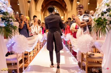 Ghanaian Wedding Best Woman and Couple's son Getting Ready Bema and Cherelle Adjei-Ampofo JOT Photography LoveWeddingsNG 2