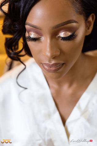 Ghanaian Wedding Bridal Makeup Bema and Cherelle Adjei-Ampofo JOT Photography LoveWeddingsNG 1