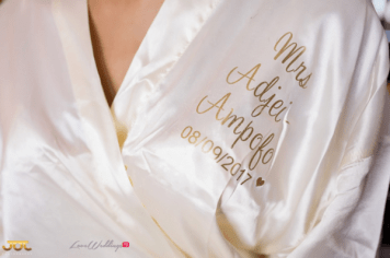 Ghanaian Wedding Bridal Robe Bema and Cherelle Adjei-Ampofo JOT Photography LoveWeddingsNG