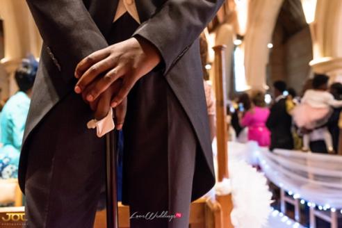 Ghanaian Wedding Groom at the altar Bema and Cherelle Adjei-Ampofo JOT Photography LoveWeddingsNG 1