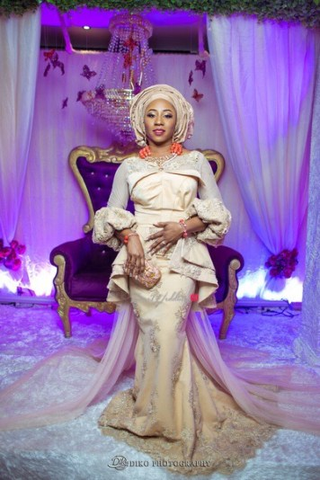 Nigerian Traditional Wedding Couple Second Outfit Uche and Emeka Diko Photography LoveWeddingsNG 1