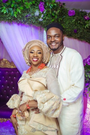 Nigerian Traditional Wedding Couple's Portrait Uche and Emeka Diko Photography LoveWeddingsNG 2