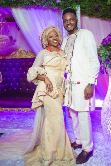 Nigerian Traditional Wedding Couple's Portrait Uche and Emeka Diko Photography LoveWeddingsNG 3
