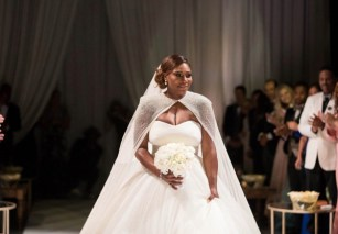 Serena Williams Alexis Ohanaian Wedding LoveWeddingsNG (C) Lisa la mode
