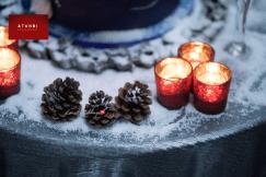 Christmas Winter Styled Bridal Shoot - Wedding Decor Anaiah GraceTable Setting UK Wedding Vendors Atunbi LoveWeddingsNG