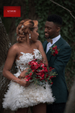 Christmas Winter Styled Shoot - Bride and Groom Reception Outfit Yinka Alli and Anthonys Collections UK Wedding Vendors Atunbi LoveWeddingsNG 6