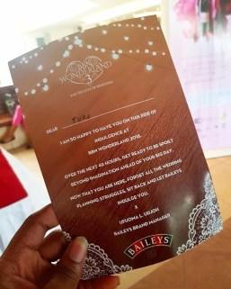 BBN Wonderland 3 Invite LoveWeddingsNG Wedding News