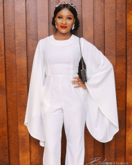 BBN Wonderland 3 White Jumpsuit Aisle Worthy Looks LoveWeddingsNG