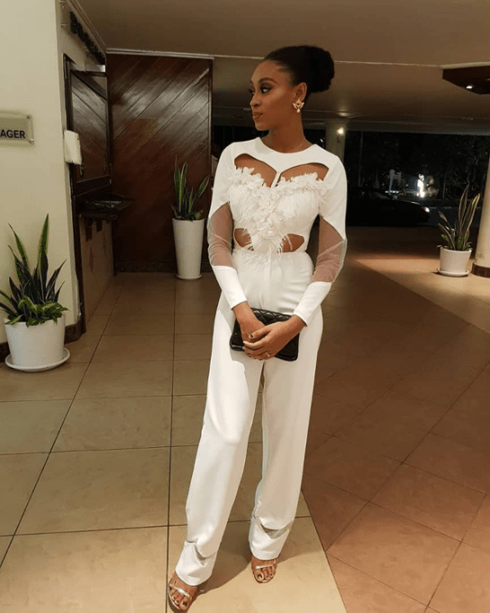 Makida Moka BBN Wonderland 3 White Jumpsuit Aisle Worthy Looks LoveWeddingsNG