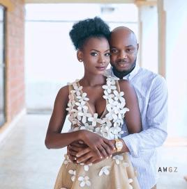 Nigerian Studio PreWedding Shoot Ibidola and Yimi Sogbesan #NYUnion Awgz LoveWeddingsNG