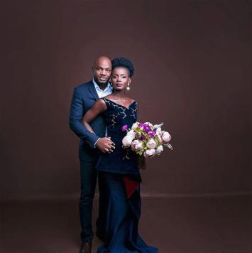 Nigerian Studio PreWedding Shoot Ibidola and Yimi Sogbesan #NYUnion LoveWeddingsNG 2