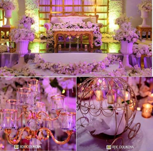 Nigerian Wedding Decor Enchanted Themed Nwandos Signature & Events LoveWeddingsNG #ForeverAHMUYours18